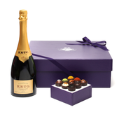 Krug Champagne + Exotic Truffle Collection Gift Set
