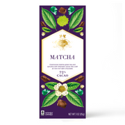 Matcha Green Tea & Spirulina Super Dark™ Chocolate Bar
