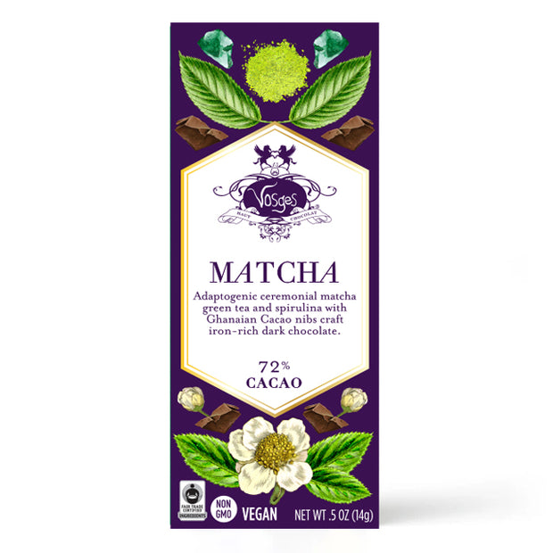 Matcha Dark Chocolate Mini Bar