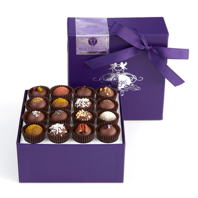 Milk chocolate truffle 16 piece