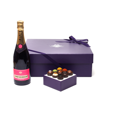 Rose + Exotic Truffle Collection Gift Set