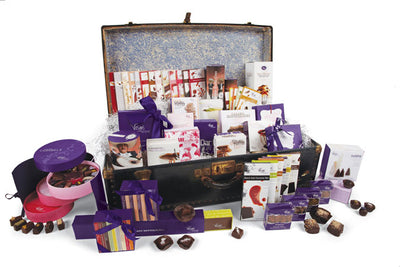 Travel The World Through Chocolate Steamer Trunk