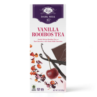 Vanilla Rooibos Tea Chocolate Bar