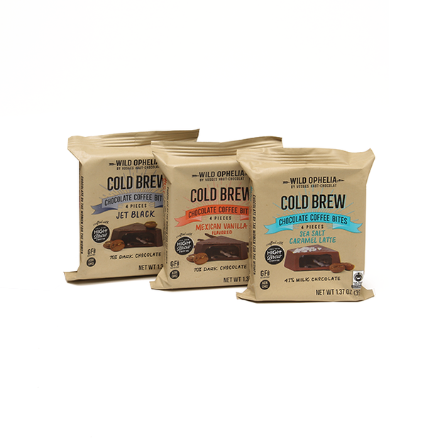 Wild Ophelia Cold Brew Chocolate Coffee Bite Variety Bundle