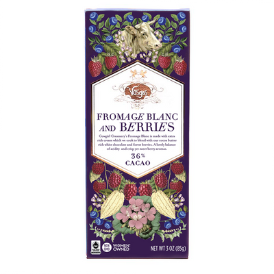 Fromage Blanc and Berries Chocolate Bar