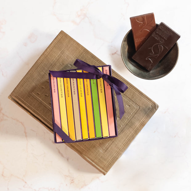 Mini Exotic Chocolate Bar Library