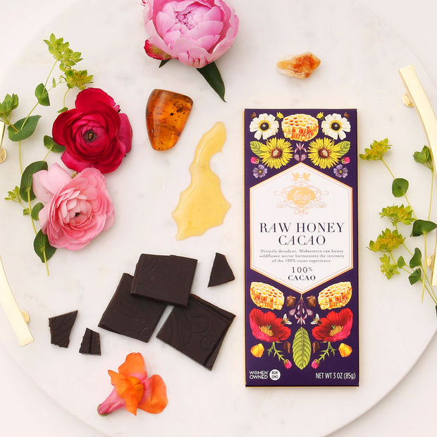 Raw Honey Cacao Chocolate Bar