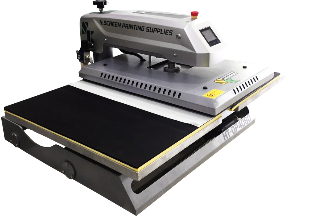 เครื่องรีดสองถาดขนาด 40x60cm Double Platen Heat Transfer Machine - SK Screen Printing Supplies