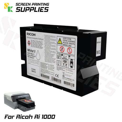 W1 ตลับหมึก ริโก้ Ri 1000 Ricoh Ri 1000 (200ml) Cartridges - SK Screen Printing Supplies