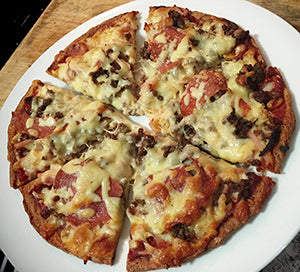 Banting LCHF Fat Head Pizza Base Recipe