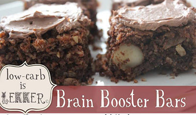 Sugarfree Diabetic Banting Low Carb Chocolate Brain Booster Bars