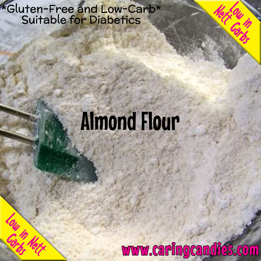Buy best Flour: Almond 1kg by Multisnack | Caring Candies  - Banting, Dairyfree, Dry Ingedients, Flour, Glutenfree, Halaal, Keto, Kosher, Low Carb, Sugarfree, Suitable for Diabetics, Vegan
