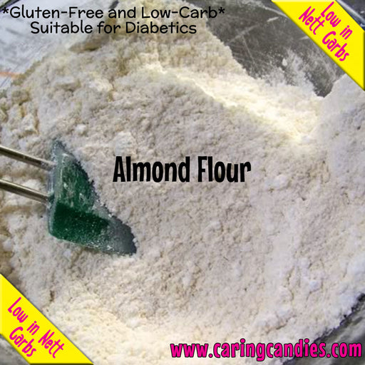 Multisnack Flour: Almond 1kg - Caring Candies Online South Africa - Certified Halaal, Certified Kosher, Dairy Free, Flour, Gluten Free, Suitable for Banting, Suitable for Diabetics, Suitable