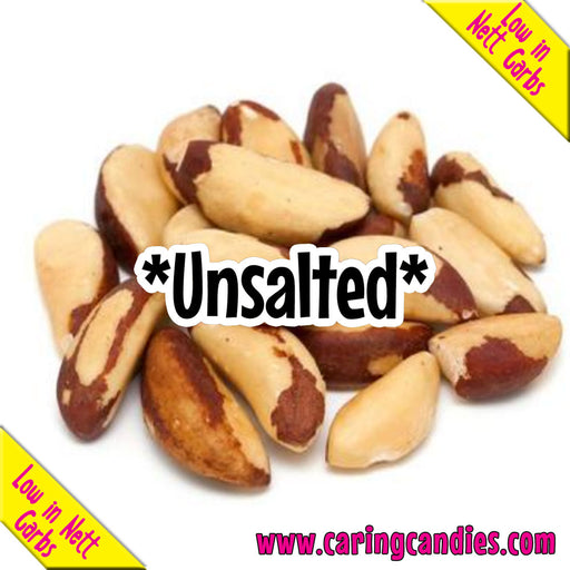 Multisnack Nuts: Brazil Roasted Unsalted 1kg - Caring Candies Online South Africa - Certified Halaal, Certified Kosher, Dairy Free, Gluten Free, Nuts, Suitable for Banting, Suitable for Diabe