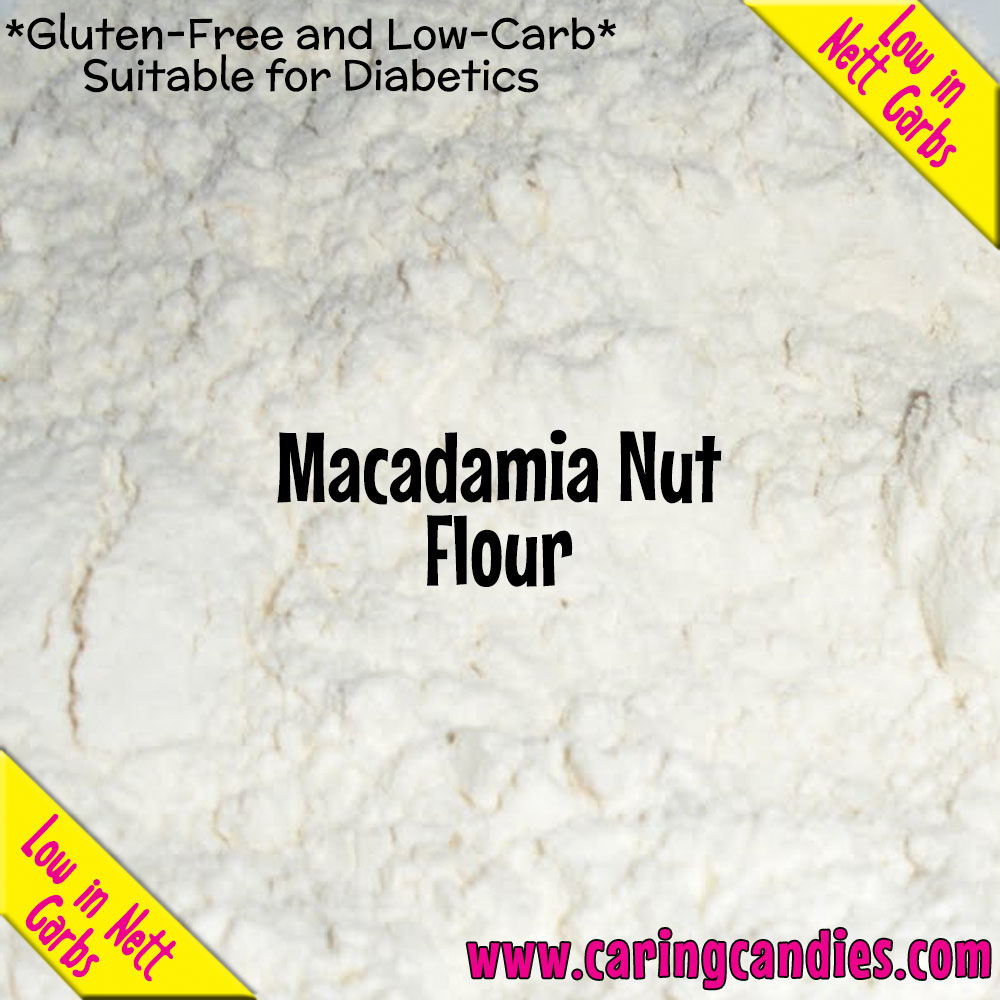 Multisnack Flour: Macadamia 1kg - Caring Candies Online South Africa - Certified Halaal, Certified Kosher, Dairy Free, Flour, Gluten Free, Suitable for Banting, Suitable for Diabetics, Suitab