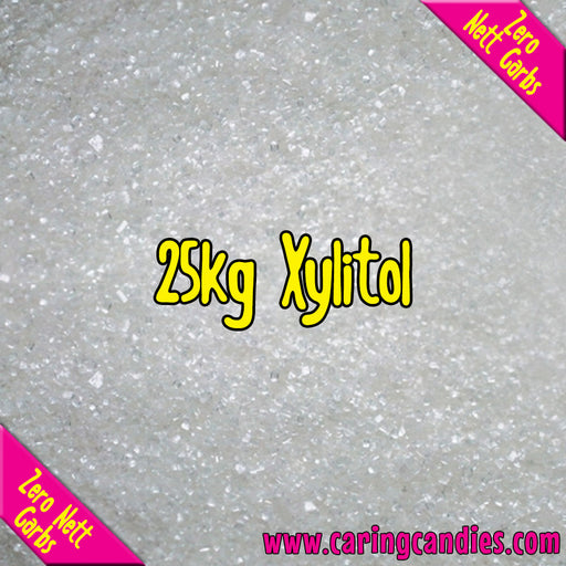 Bulk Saving Xylitol: 25kg Natural Sugar Substitute - Caring Candies Online South Africa - Natural Sugar Substitutes