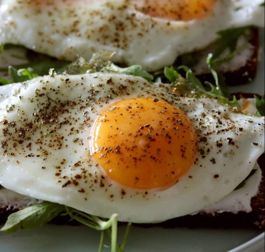 Eggs are a great source of protein for breakfast, lunch or dinner.