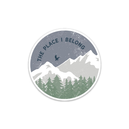 Place I Belong Sticker