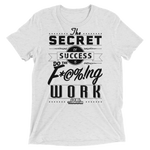 Secret To Success Unisex Tri-Blend T-Shirt