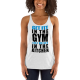 Women's Racerback Tank - Get FIT in the GYM