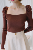 Lavis Square Neck Top