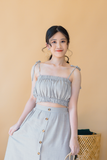 Santune Ruffle Two Piece Set