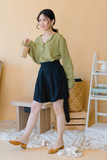 Cozy High-Waist Short Pants