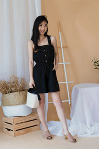 Carolina Ritzler Short Jumpsuit In Black