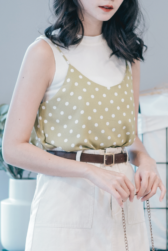 Polka Dot Cami Top