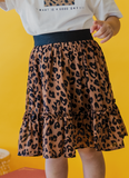 Cheetah Flare Skirt