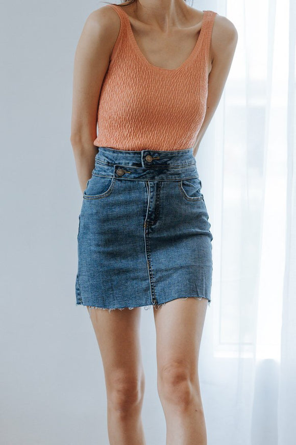 Camryn Denim Skirt
