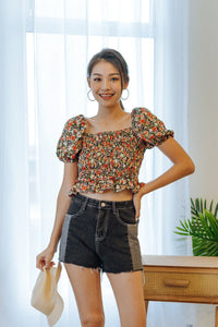 Bethany Floral Top
