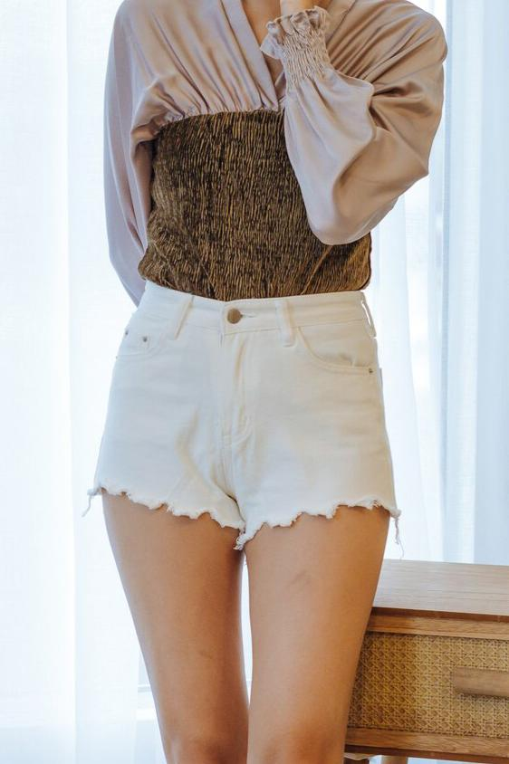 Nayeli Denim Shorts