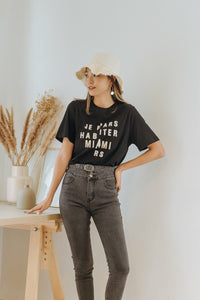 Miami Round-neck Top