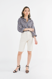 Knee-length Shorts Pants