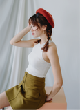 Halter Knitted Top