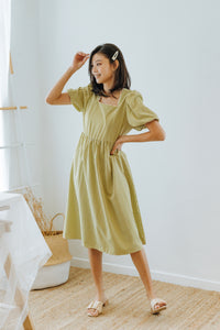 Laria Puff Sleeve Dress