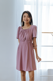 Genevieve Square-neck Dress