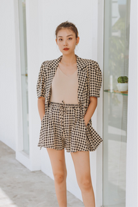 Shalee Checkered Two Piece Set