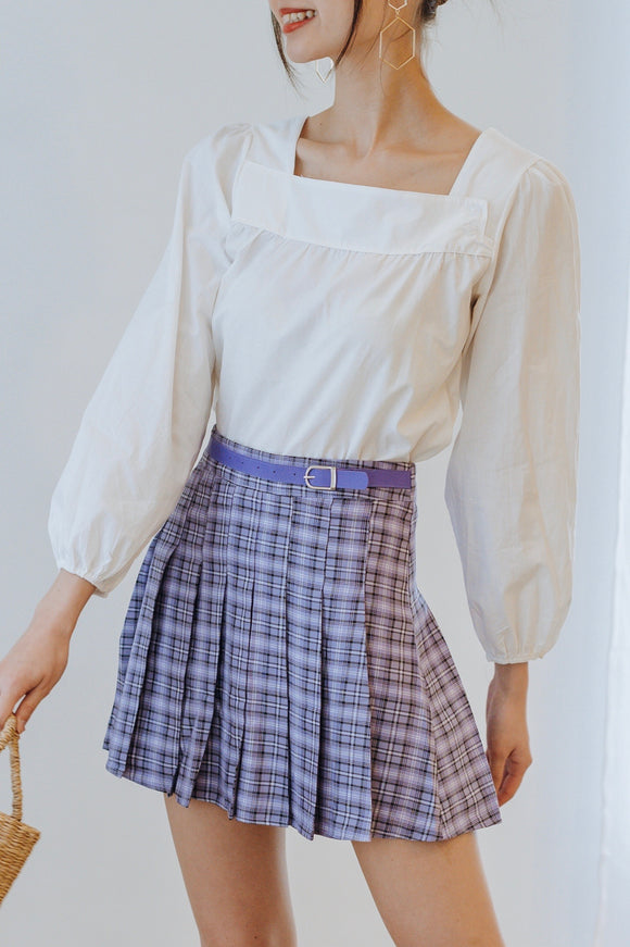 Gordia Checkered Skirt
