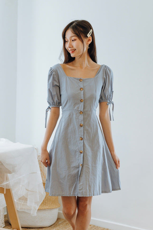Trilby Button Down Dress