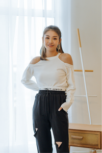 Eileen Cold Shoulder Top