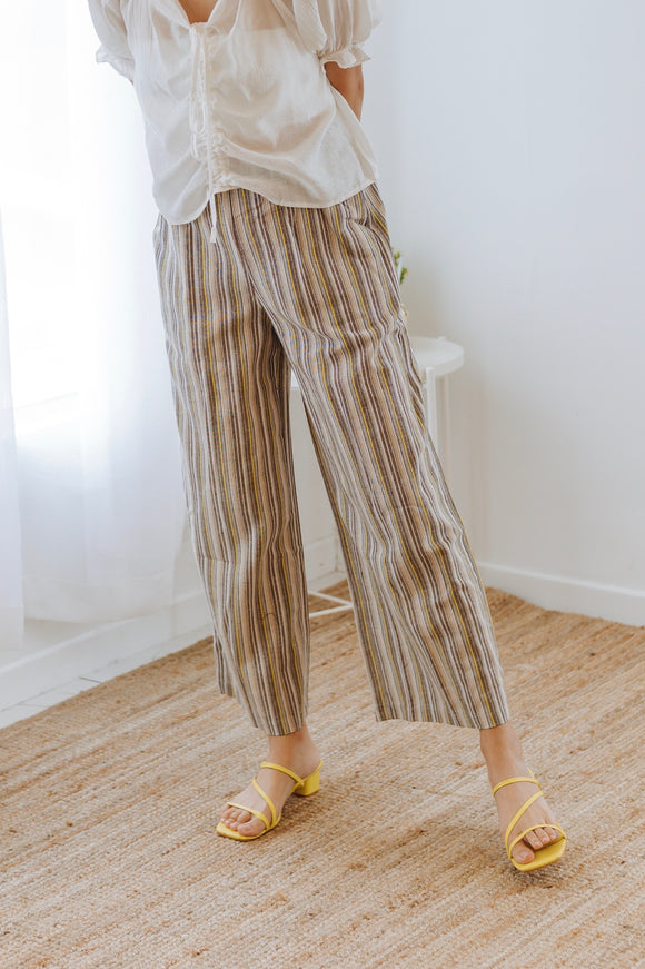Gorry Stripe Relaxed Pants