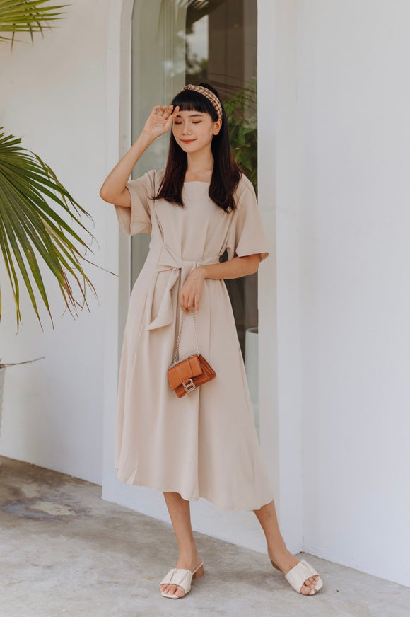 Lyah Side Wrap Dress