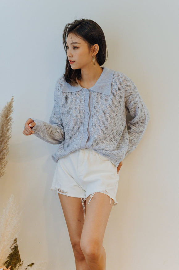 Vena Collar Sweater