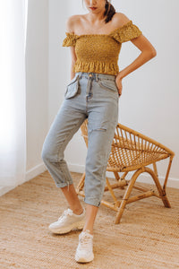 Heraly Pocket Straight Jeans