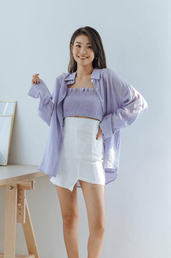 Lavender Two-piece Set Top