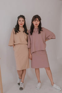 Dandy Collar Two Piece Set