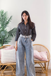 Daphne Check Shirt