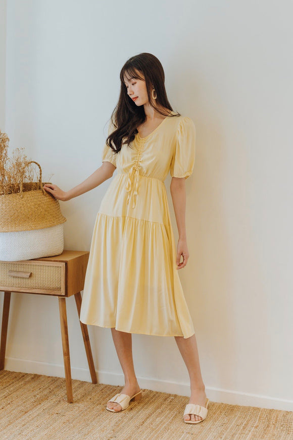 Petricya Ruched Long Dress
